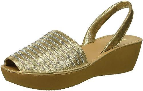 3e0c07465884 Kenneth Cole Reaction Women s Fine Stripe Platform Sandal Wedge ...