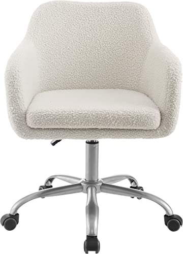 Linon Home Decor Products Linon Brooklyn Sherpa Office Chair