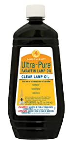 Lamplight Ultra-Pure Lamp Oil, Clear, 32 Ounces