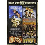 6-Movie Most Wanted Westerns : Geronimo: An American Legend/Major Dundee/The Missing/The Professionals/The Quick And The Dead