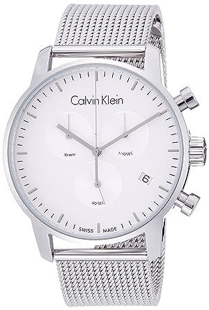 Herren Calvin Edelstahl Chronograph Uhr Klein Mit Quarz J3FlKuT1c