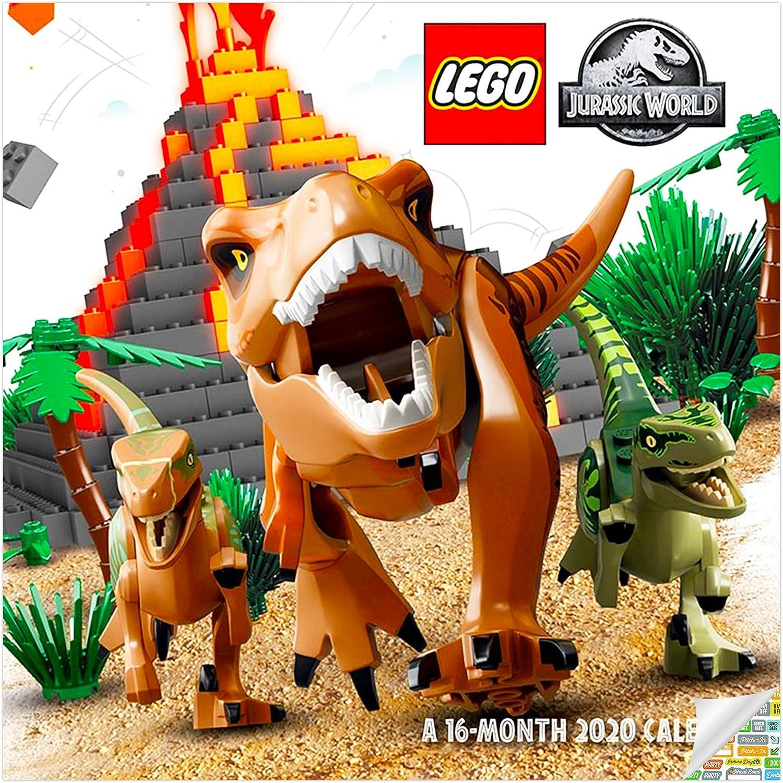 Lego Jurassic World Calendar 2020 Bundle   Deluxe 2020 Lego
