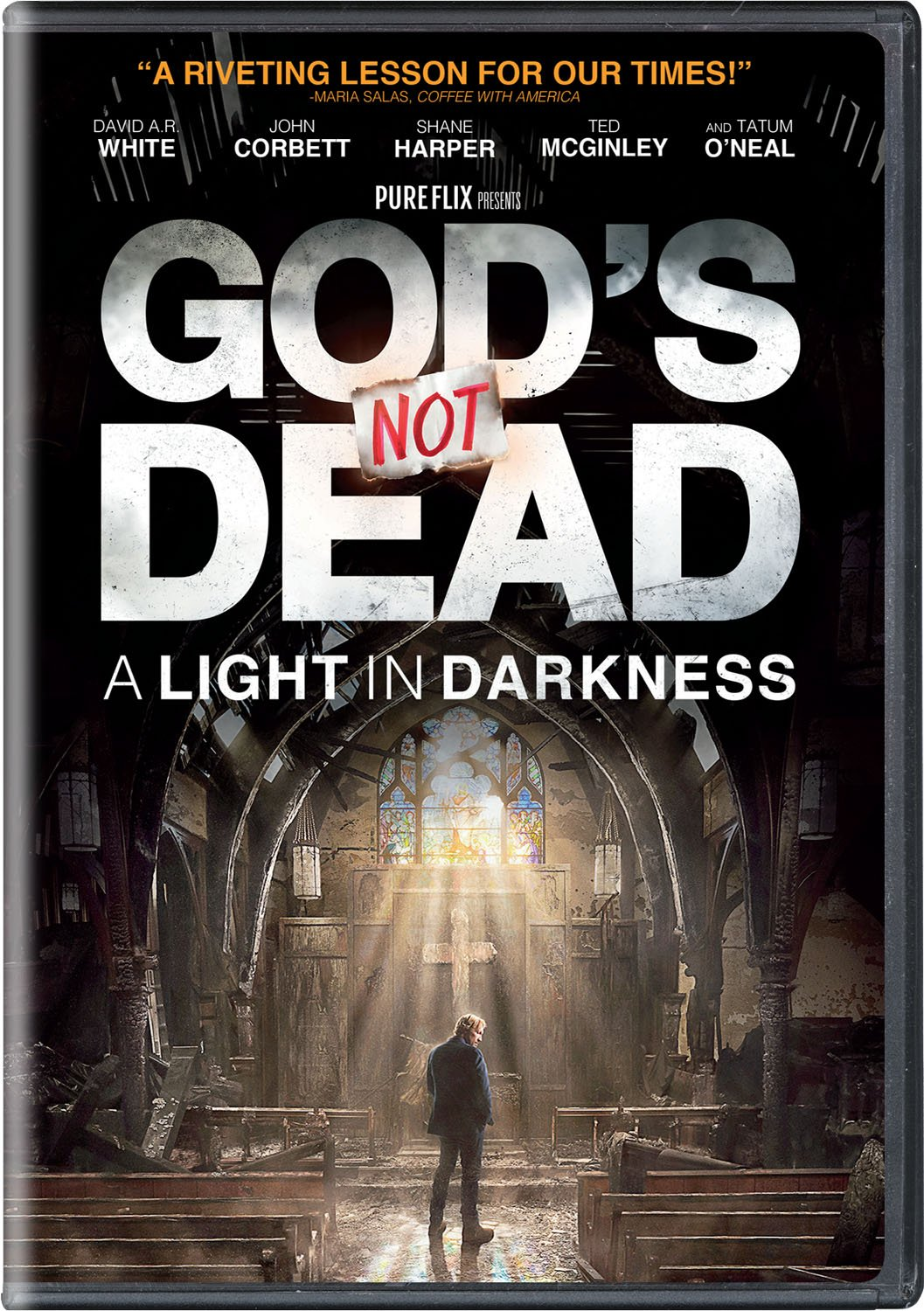 Amazon com: God's Not Dead: A Light in Darkness: David A R  White
