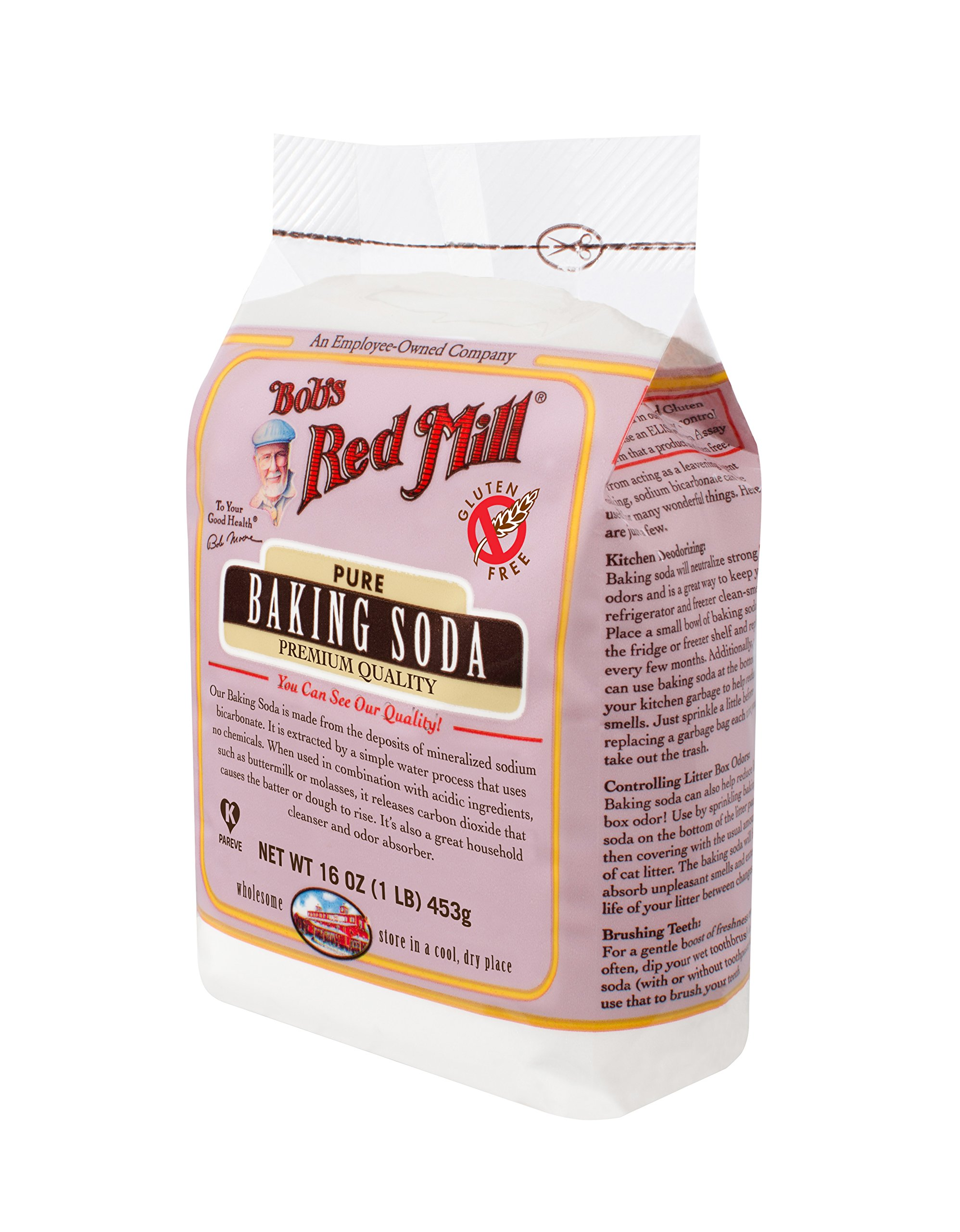 Bob's Red Mill Baking Soda, 16-ounce (Pack of 4) by Bob's Red Mill (Image #5)