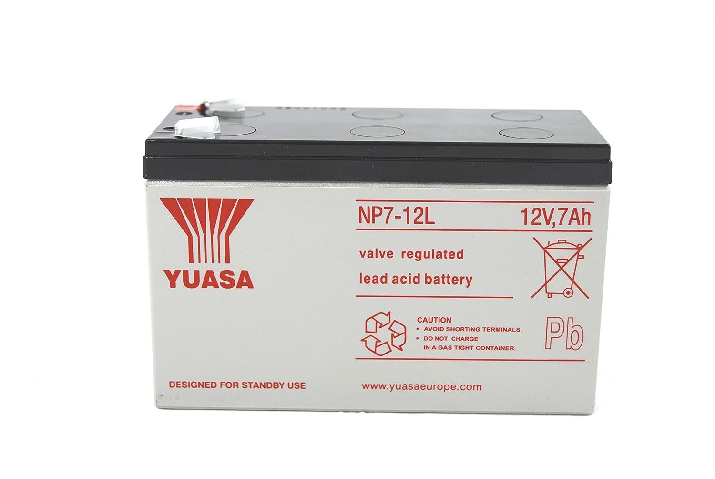 YUASA NP7– 12 Batterie au plomb 6, 3 mm 3mm ユアサ商事 (BISS) NP7-12 6 3mm