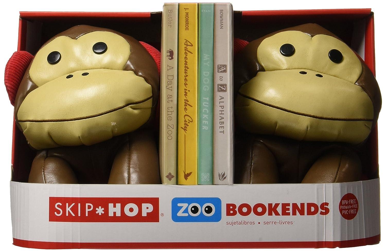 Skip Hop Set of 2 Zoo Bookends, Monkey 322501