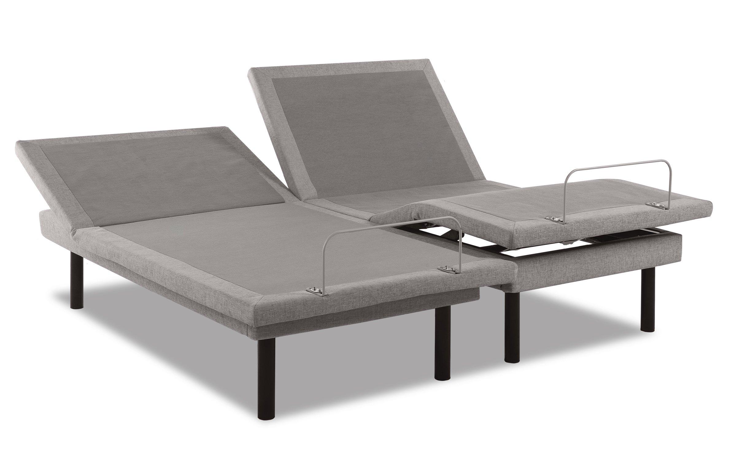 TEMPUR-Ergo Plus-Grey Adjustable Base, Twin XL by Tempur-Pedic