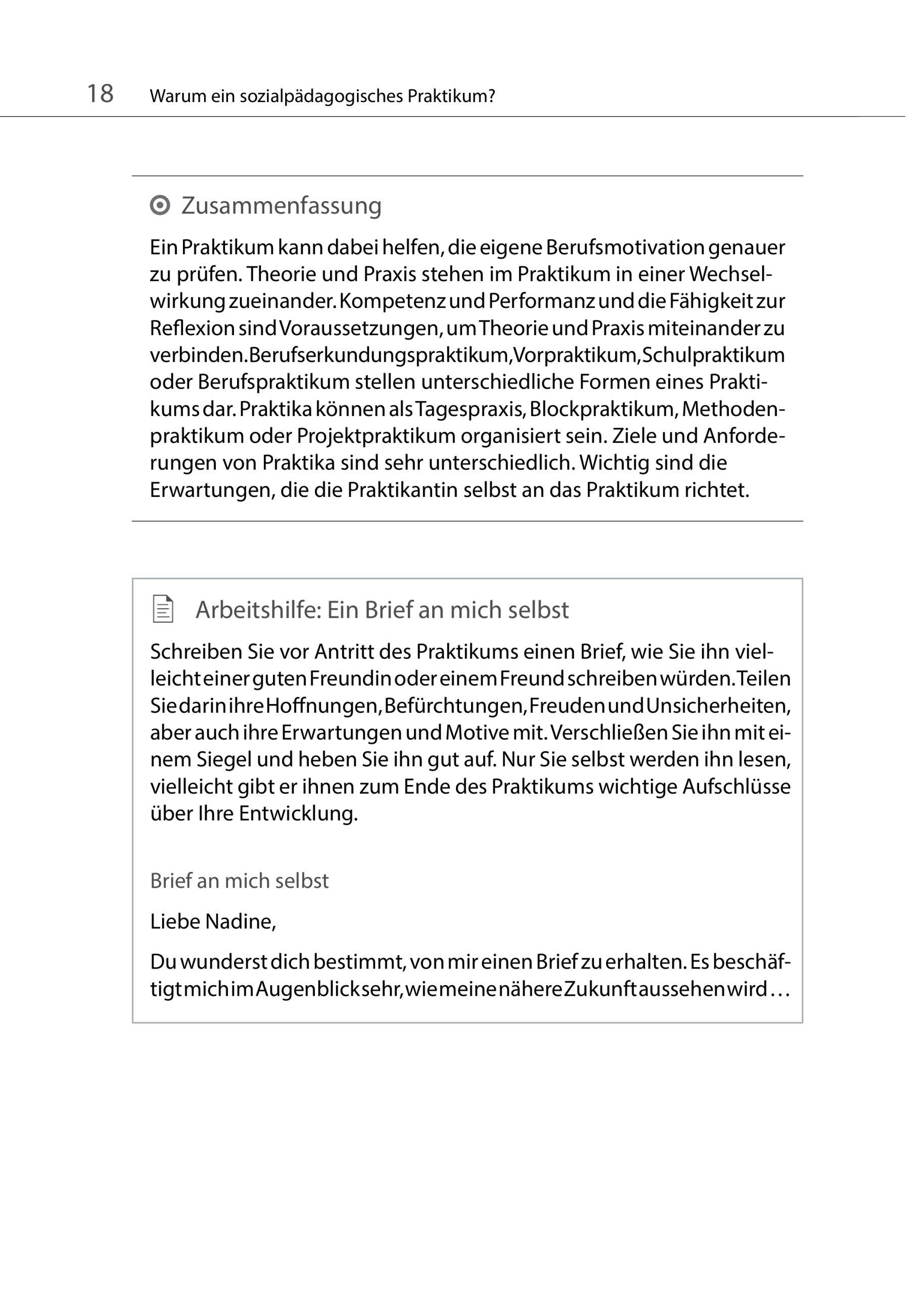 Sozialpädagogische Praxis: Band 3 - Das sozialpädagogische Praktikum ...