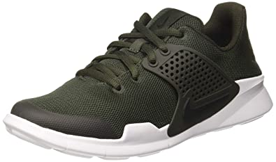 official photos c5a7c ce73f Nike Arrowz, Chaussures de Running Compétition Homme, Multicolore  (Sequoia Black White