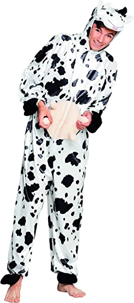 Boland 88161 Teen disfraz de vaca de peluche, un tamaño: Amazon.es ...