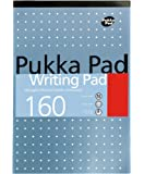 Pukka Pad A5 Writing Pad 160pages Of 80GSM Premium Quality Writing Paper (Pack of 6)