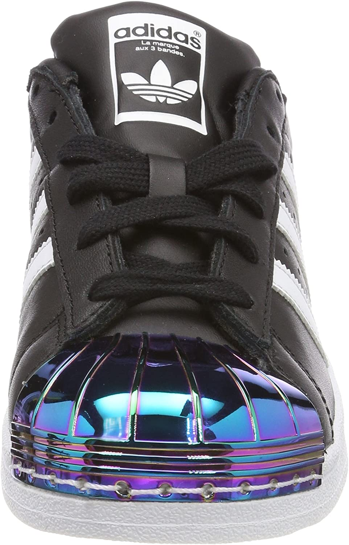 adidas Damen Superstar Metal Toe Fitnessschuhe Schwarz Negbas Ftwbla Supcol 000