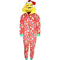 95cc46eb2e1a Sleep On It Girl s Micro Fleece Onesie Pajamas with Character Hood