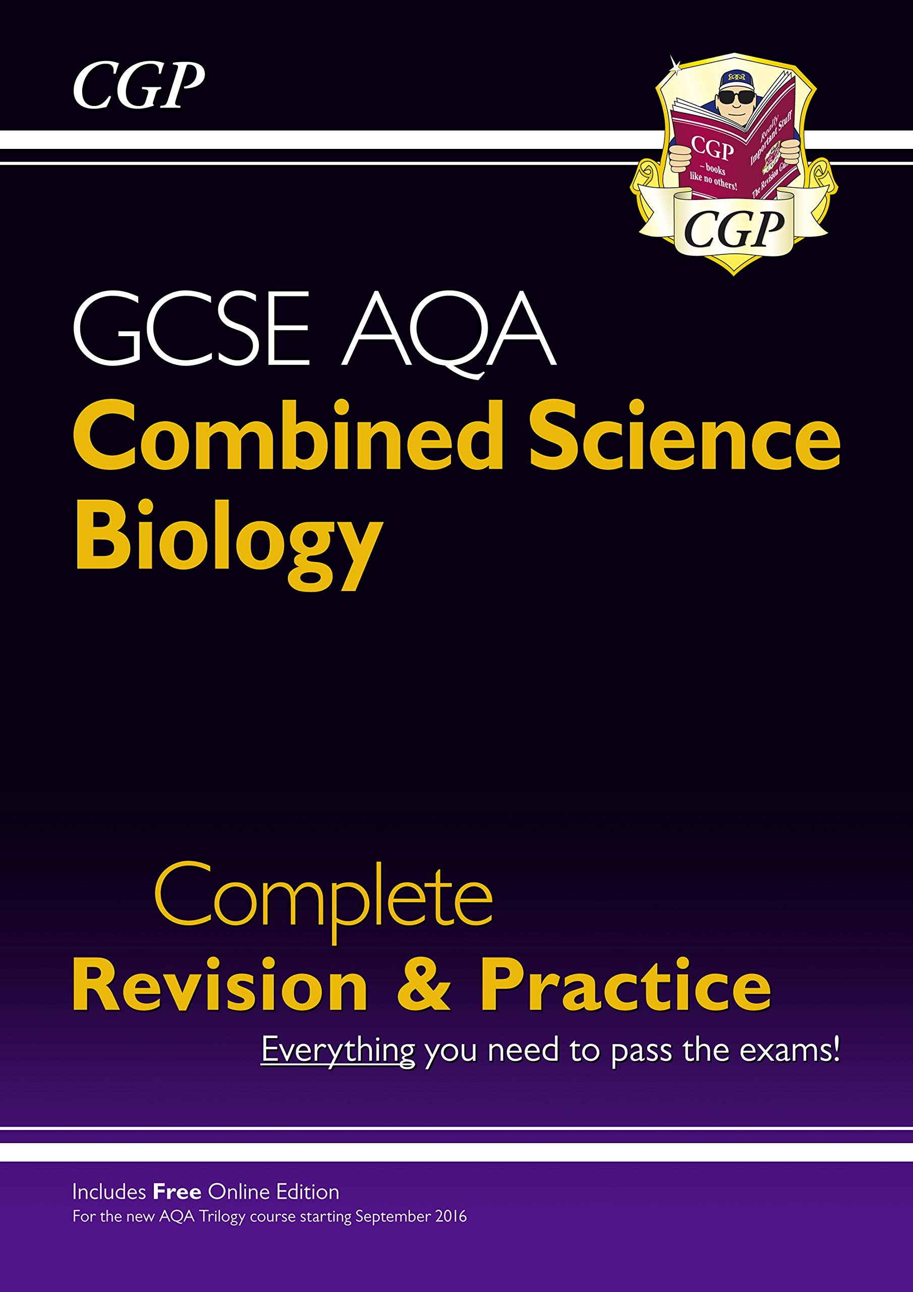Download New 9-1 GCSE Combined Science: Biology AQA Higher Complete Revision & Practice with Online Edition pdf epub