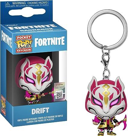 Amazon.com: Funko Pop! Llavero: Fortnite – Drift: Toys & Games