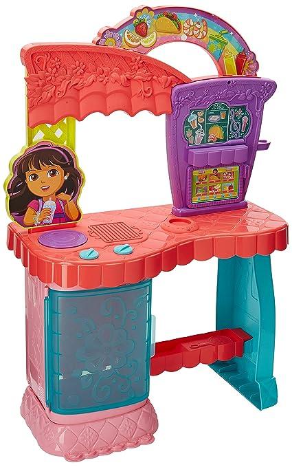 Juegos De Cocina Con Dora | Fisher Price Dora Cocina Arcoiris Amazon Com Mx Juegos Y Juguetes