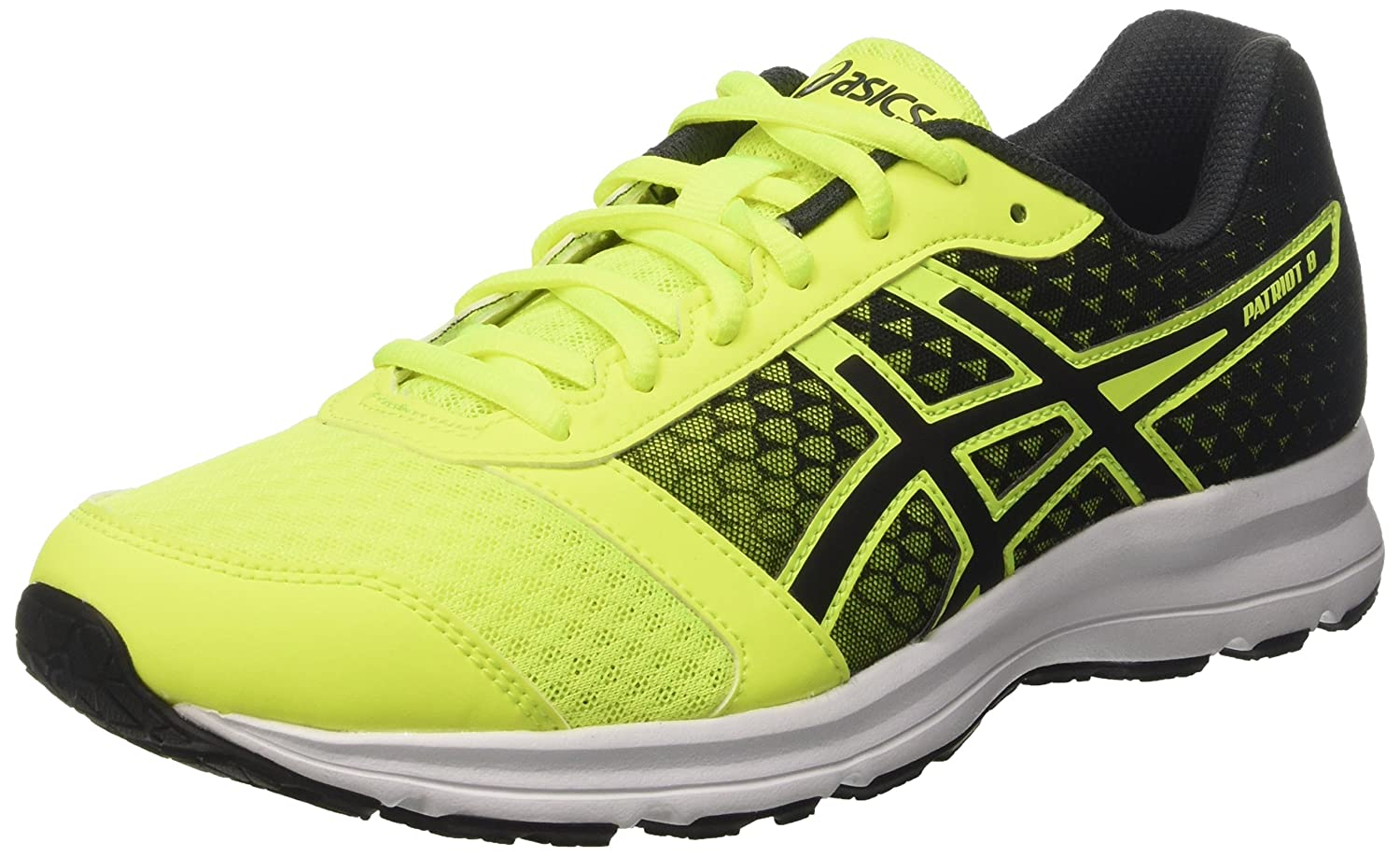 new arrival d3f4a 4cce1 Amazon.com   ASICS Patriot 8 Running Shoes - SS17-11.5 - Yellow   Road  Running
