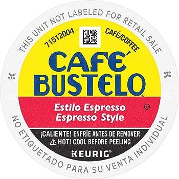 Café Bustelo Dark Roast Espresso K Cup