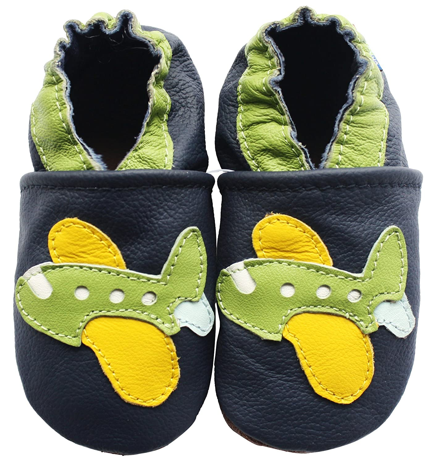 Carozoo Baby Shoes Leather Soft Sole Prewalker Slippers Socks Toddler Kids Shoes (16 Designs)