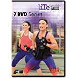 Cathe Friedrich LITE Series (Low Impact Training Extreme) 7 DVD Workout Series for Intermediate Exercisers