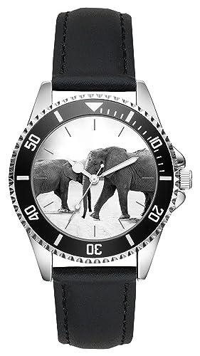 Elefante Regalo Artículo Idea Fan Reloj L-20587...