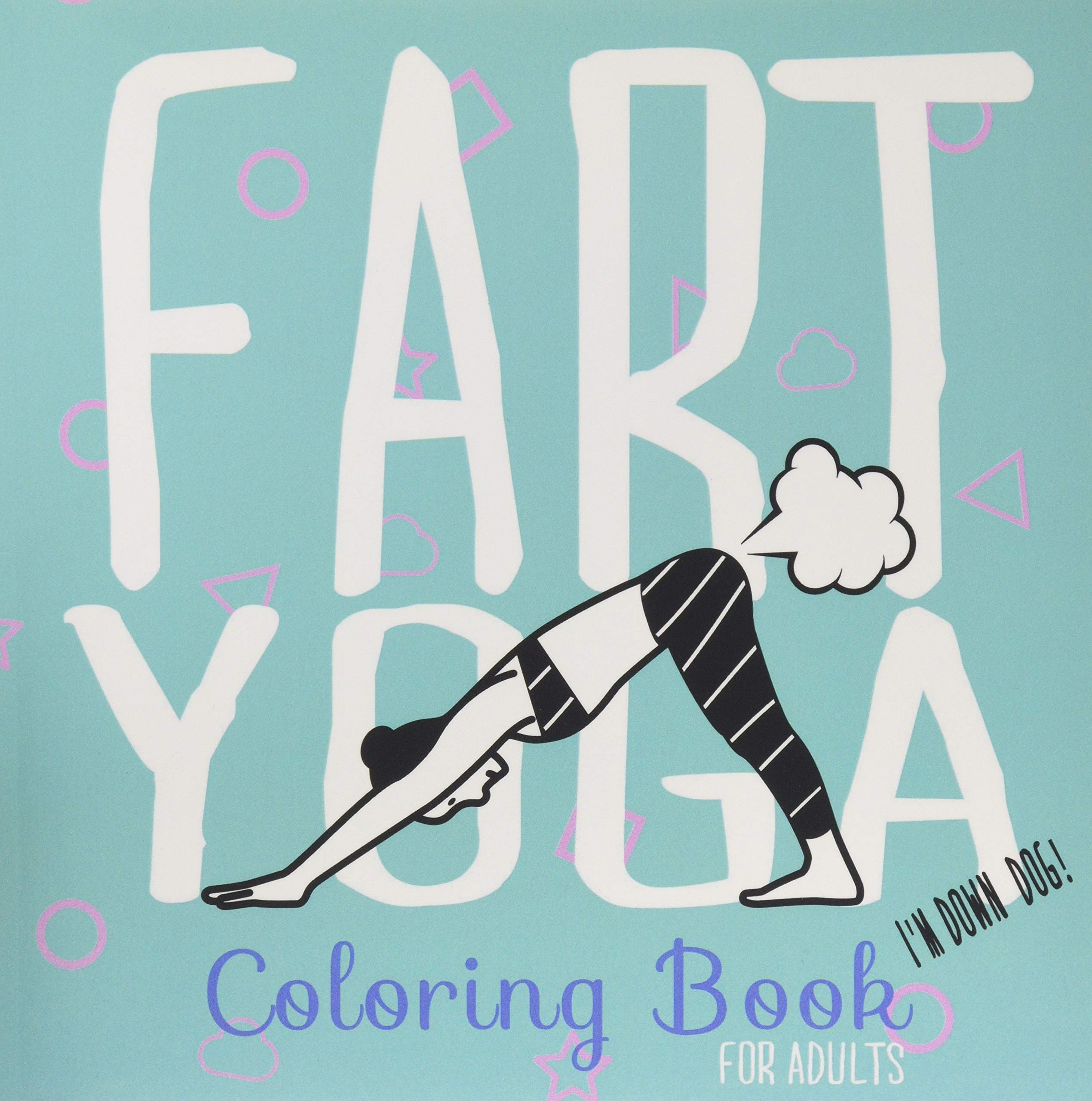 Fart Yoga Coloring Book Adults product image