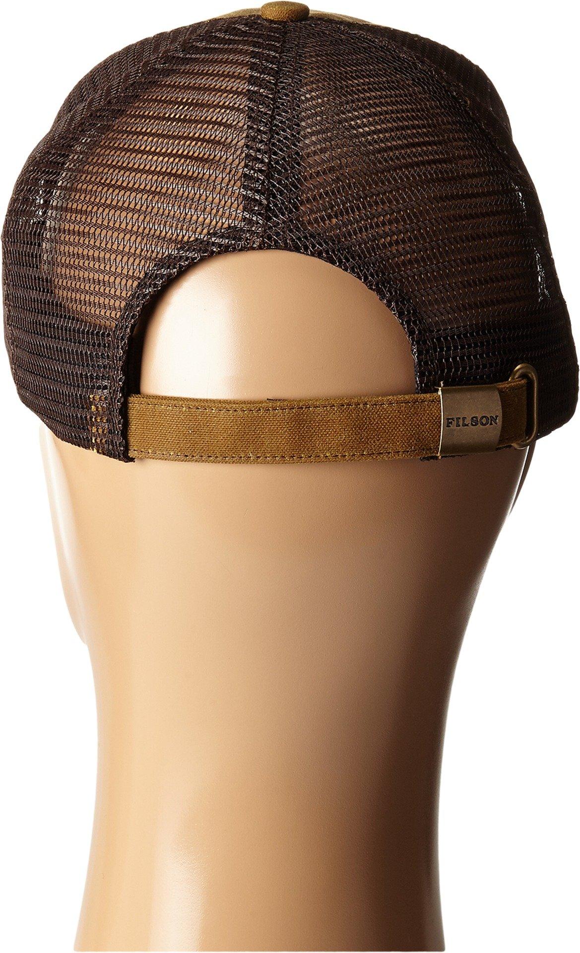 Filson Unisex Logger Mesh Cap Dark Tan Hat by Filson (Image #3)