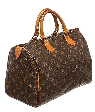 Louis Vuitton - Bolso estilo cartera para mujer marrón marrón: Amazon.es: Equipaje