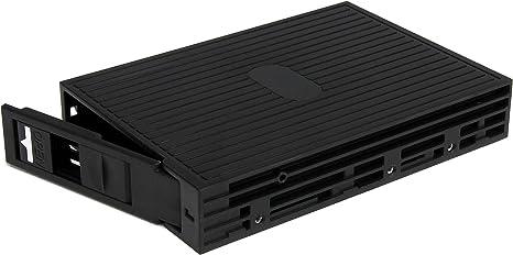 StarTech 25SATSAS35 - Caja de Disco Duro, Negro: Amazon.es: Informática