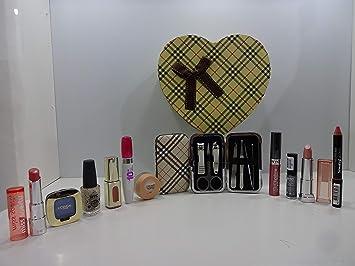 Rimmel London - Caja de regalo de belleza - Rimmel London Productos de maquillaje x 5 lote en caja de regalo gratis envuelto para regalo.