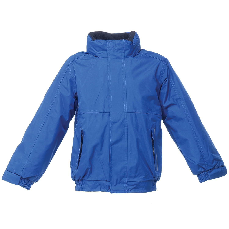 Navy//Navy 9-10 Regatta Kids//Childrens Waterproof Windproof Dover Jacket