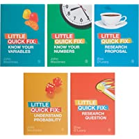 Bundle: Little Quick Fix Series (O'Leary: Research Question + O'Leary: Research Proposal + Macinnes: Identify Your Variables + Macinnes: Know Your Numbers + Macinnes: Understand Probability)
