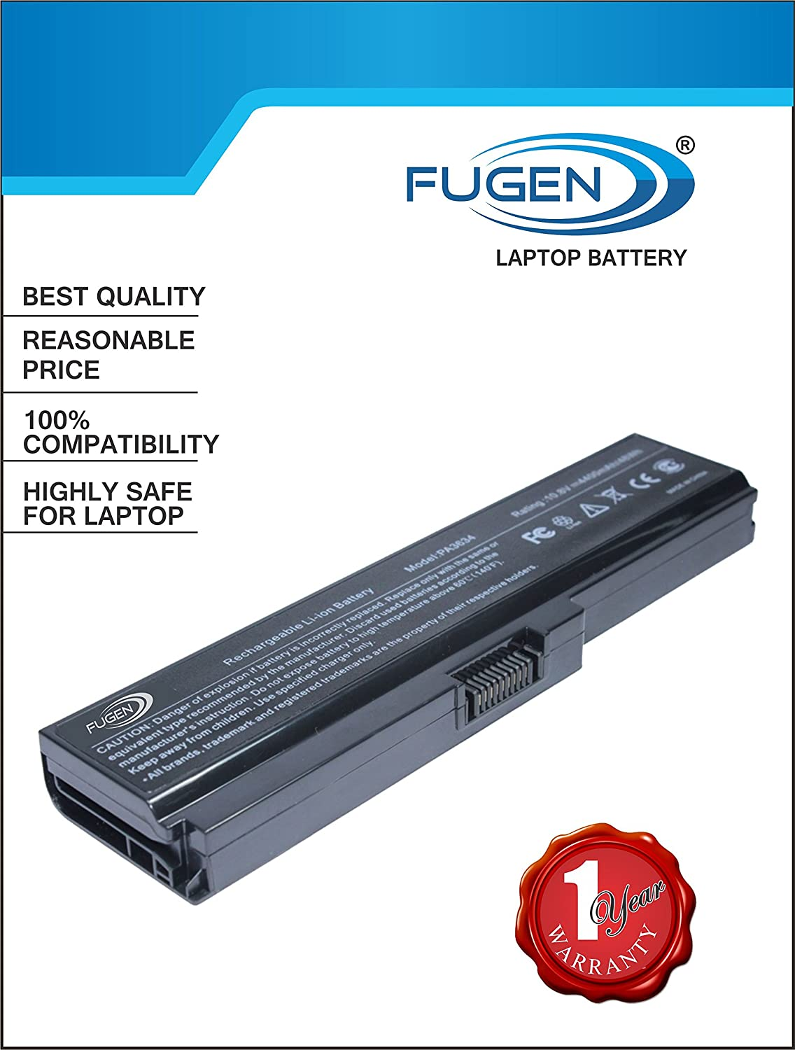 Buy Fugen Laptop Battery 6 Cell For Toshiba Satellite Keyboard Satelite L735 L745 C600 C640 C645 L600 L645 L630 L635 C650 C655 C675 L640 L650 L655 L670 L675 Pa3634u 1brs