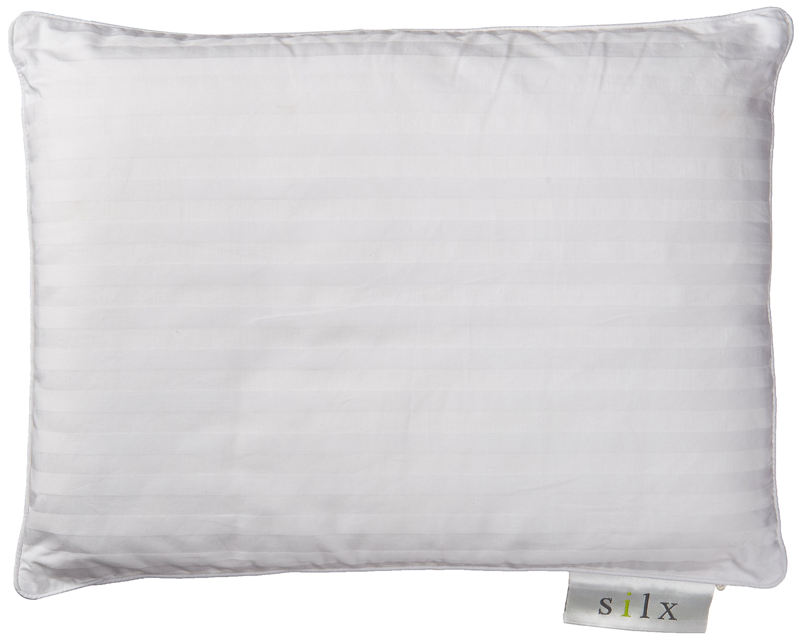 Silx Silk Filled Double Fill Pillow, Queen by SILX