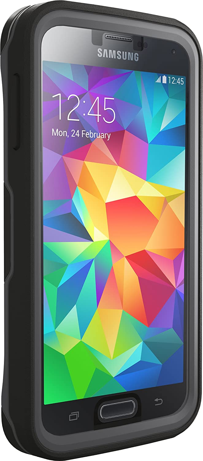 quality design fff46 7d216 OtterBox Preserver Series Case for Samsung Galaxy S5 - Retail Packaging -  Carbon Black/Slate Grey (Discontinued by Manufacturer)