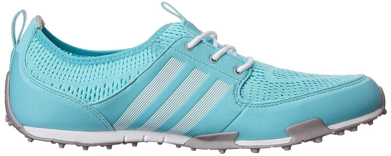adidas Women's W CC Ballerina II Golf Shoe B00NVT1876 White/Matte 6.5 B(M) US|Clear Aqua/Running White/Matte B00NVT1876 Silver 6b35a9
