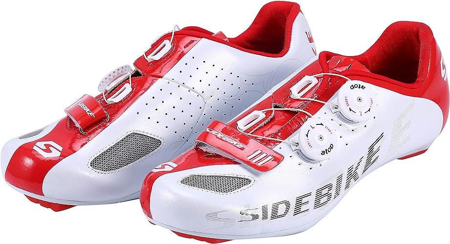 Asvert Zapatillas Bicicleta Montaña Unisex Profesional con Sistema ...