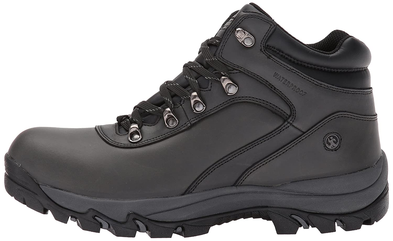 Northside Mens Apex Mid Hiker Leather Waterproof Hiking Boot