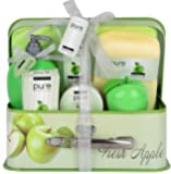 Essence of Luxury Spa Gift Basket Bath Set! PURE Spa Basket Natural Skin Care Gift Set Makes Best Christmas Gift for Women & Holiday Gift Baskets!