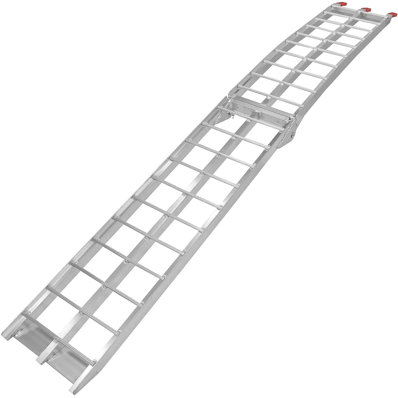 Aluminum Folding Ramps >> Amazon Com Titan Ramps Single 7 5 Dirt Bike Loading Ramp Aluminum