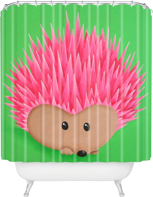 Deny Designs Mandy Hazell Ollie Hedgehog Shower Curtain 69 x 72