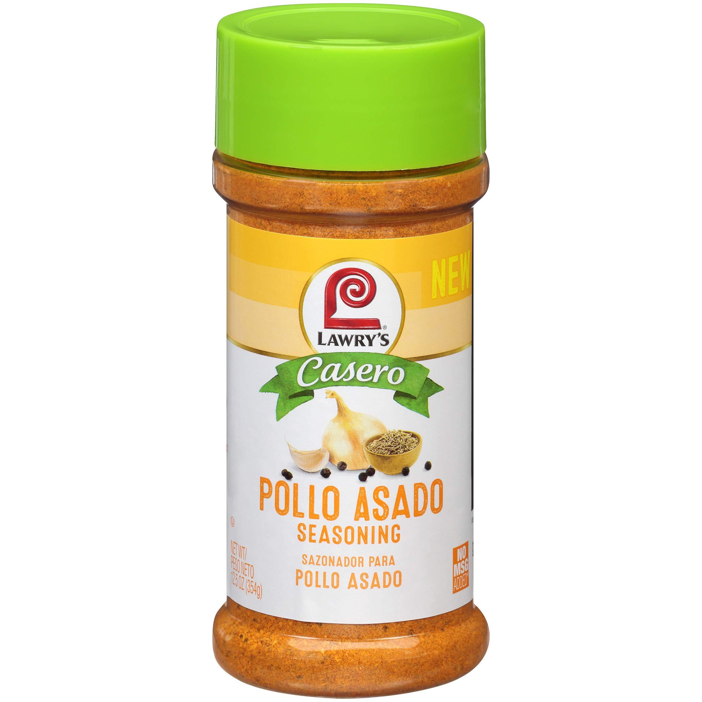 Lawry's Pollo Asado Seasoning, 12.5 Ounce (Pack of 12)