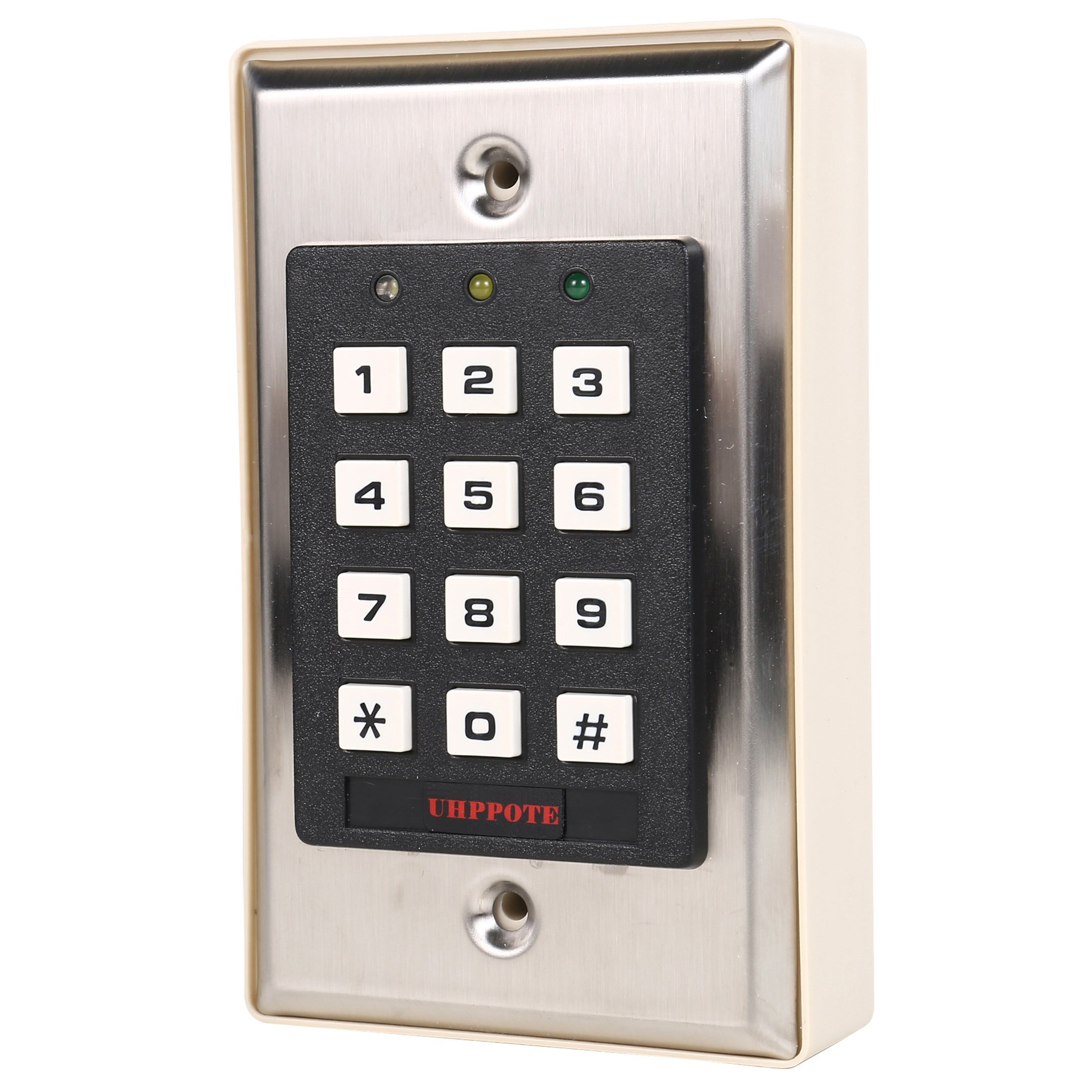 UHPPOTE Luminous Backlight RFID Digital Access Control Keypad Card/Code/Card+Code