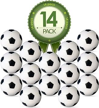 Futbolín Mesa Repuesto foosballs- 14 unidades – 36 mm mesa de ...