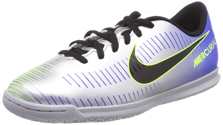 5097f7560b0 Amazon.com  Nike Neymar JR Mercurial Vortex III Youth Indoor Soccer Shoes-  Racer Blue Size  11.5C  Clothing
