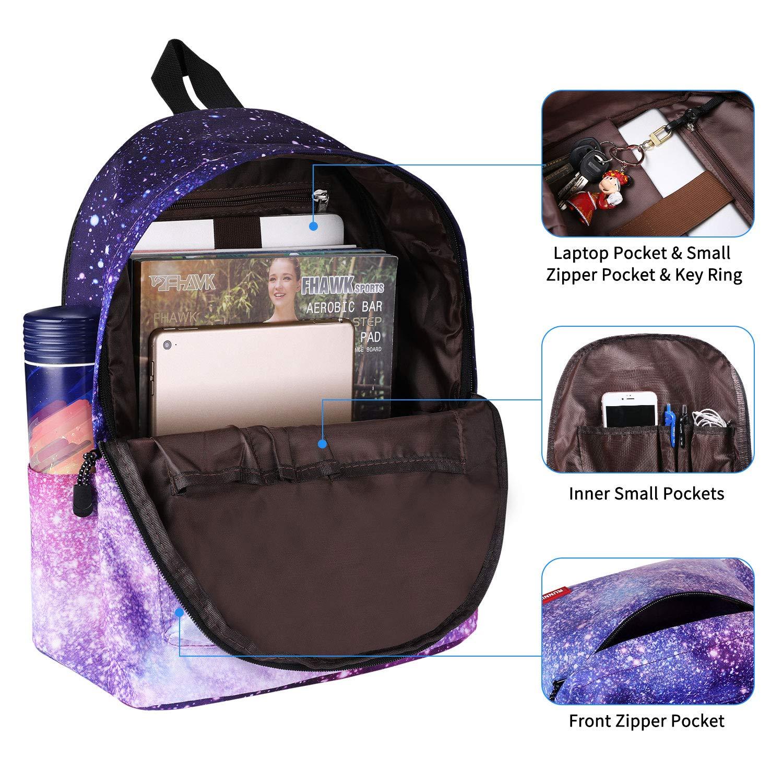 Amazon.com: Mochila escolar unisex para Galaxy School SKL ...