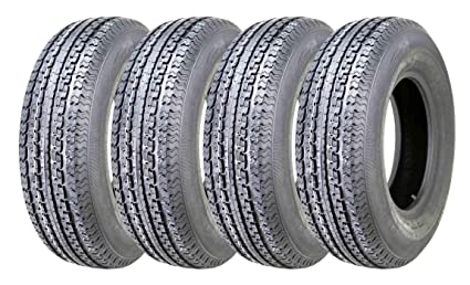 Amazon Com 4 Premium Durun Trailer Tire St225 75r15 Radial 10pr