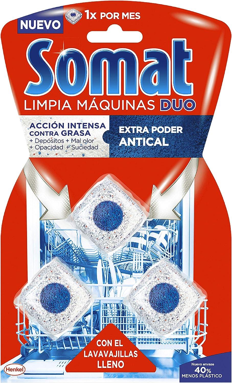 Somat Pastillas Limpiamáquinas - 3 Dosis