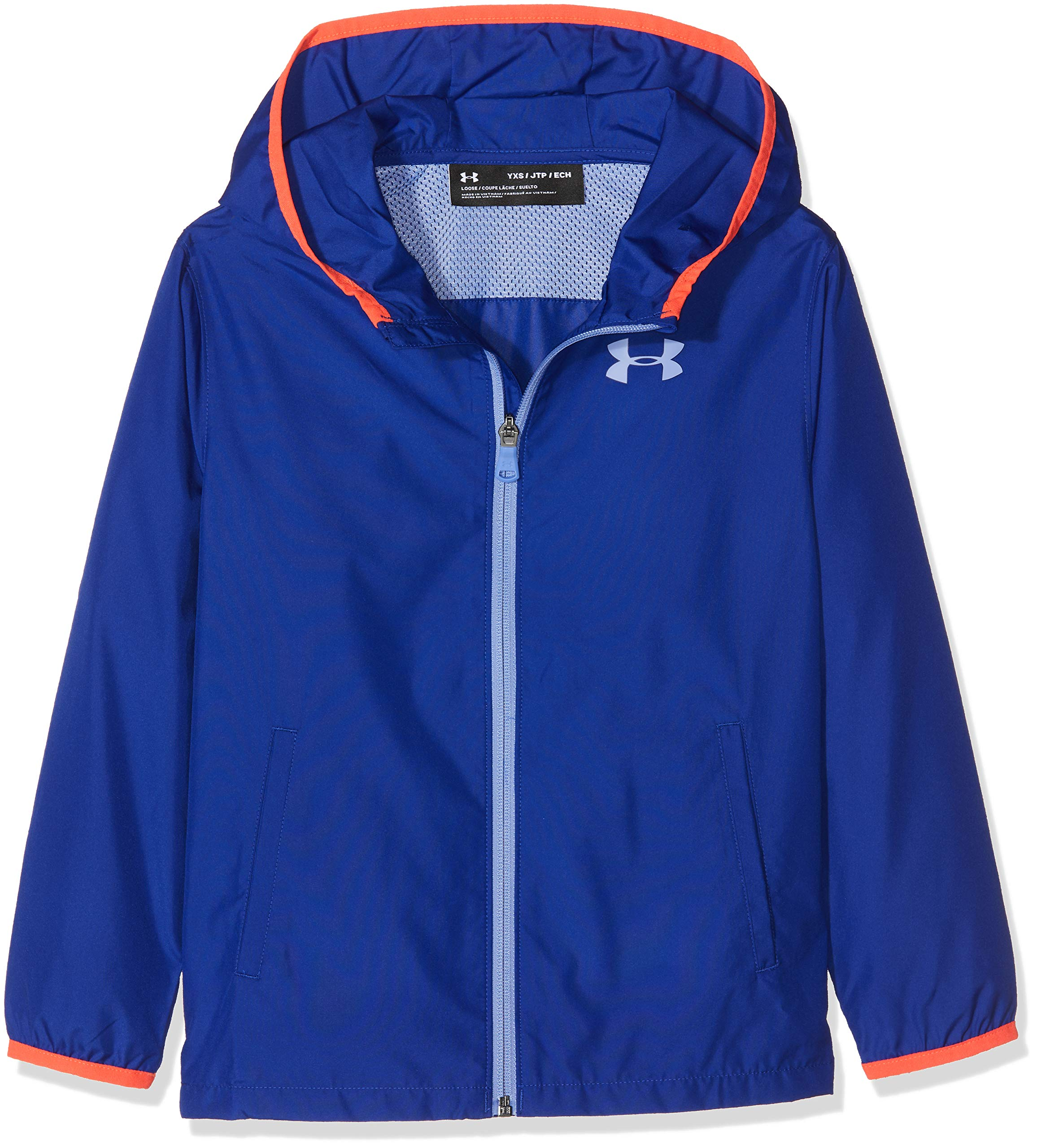 Under Armour Girls' Sackpack Jacket, Formation Blue (574)/Talc Blue, Youth Large by Under Armour