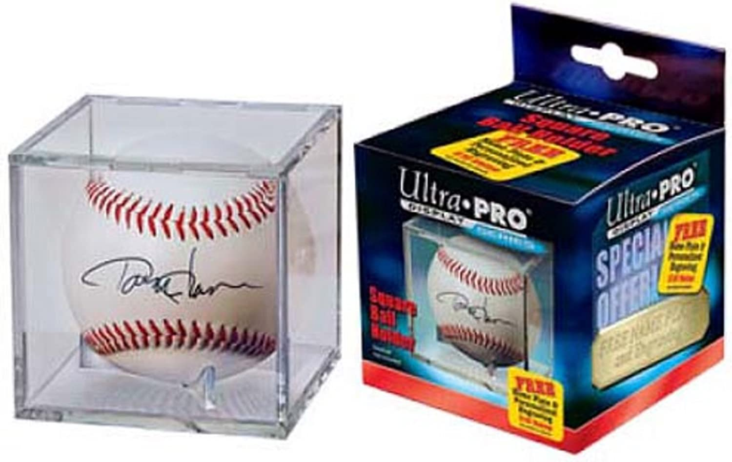 Ultra Pro Baseball Clear Square Holder: Sports & Outdoors